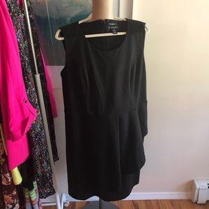 Tailored peplum shift dress.perfect LBD